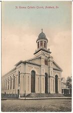 St. Thomas Catholic Church in Archbald PA Postcard