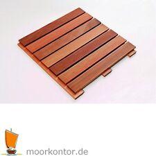 Bangkirai Holzfliese - Holzfliesen Premium, Terrassenfliese / Terrassenfliesen