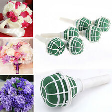 Useful  DIY Bridal Handle Wedding Supplies Flower Decoration Bouquet Foam Holder