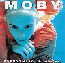 MOBY : EVERYTHING IS WRONG / CD (MUTE RECORDS INT 846.921) - NEUWERTIG