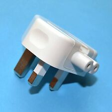 Genuine Original Apple 3 Pin UK Plug for iPad MacBook Magsafe Charger 3A Fused