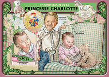 Niger 2016 MNH Princess Charlotte 1st Bday 1 S/S William & Kate Royalty Stamps
