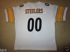 Pittsburgh Steelers #00 Reebok NFL Jersey Womens LG L