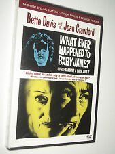 What Ever Happened To Baby Jane ? : Bette Davis & Joan Crawford 2-disc R1 NEW