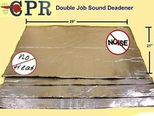 36 SQ FT Extra Thick -Sticky Sound Deadener & Radiant Heat Insulation 1 Car Kit