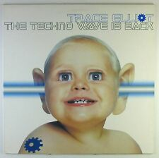 "12"" Maxi-trace Elliot-the techno wave is back-c1491-washed & cleaned"