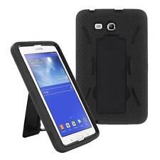 Black Armor Box Case Stand Samsung Galaxy Tab 3 Lite 7.0 SM-T110/T111/T113/T116