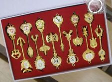 12 pcs Fairy Tail the twelve constellations big key set keychain Cosplay set