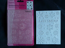 Crafts-Too/CTFD3072/C6/Embossing /Folder/Let It Snow/Snowflake