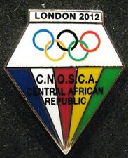 LONDON 2012 Olympic CENTRAL AFRICA REPUBLIC NOC Internal team - delegation pin