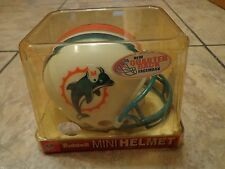 RIDDELL--MIAMI DOLPHINS FOOTBALL--AUTHENTIC MINI HELMET (NEW)