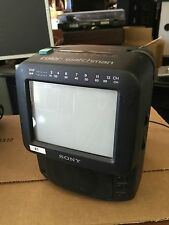 "Sony Color Watchman Portable 5"" TV AM/FM-Tuner FDT-5BX5"