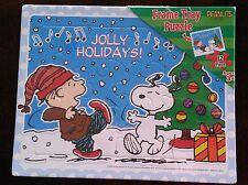 !! Snoopy / Peanuts - 12 tlg. Puzzle mit Rahmen / Neu & OVP !!