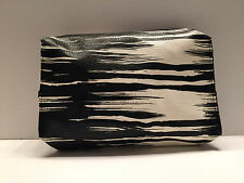 Brand New !   Estee Lauder  Cosmetic Makeup Travel Bag -   Black and White Print