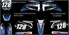 Yamaha  YZ125 YZ250  Full Graphic kit  YEAR 2009 2010 2011 2012 2013
