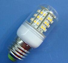 1x E27 48 SMD LED White bulb lamp light 220~240V With transparent cover #E2WA