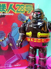 BILLIKEN TIN WIRE REMOTE CONTROL BLACK GIGANTOR TETSUJIN T 28 OSAKA  TIN TOY
