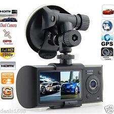 HD Doppia Lente Videocamera 6.9cm schermo LCD DVR Veicolo Video