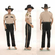 The Walking Dead Sheriff Rick Grimes Uniform Full Set Adult Halloween Costume