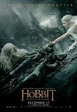 POSTER HOBBIT LORD OF THE RINGS BATTLE OF THE FIVE ARMIES GALADRIEL GANDALF 22