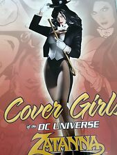 ZATANNA DC COVER GIRLS STATUE ADAM HUGHES BRAND NEW
