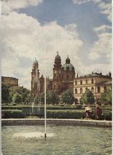 Alte Postkarte - München - Springbrunnen im Hofgarten