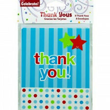 Pack of 8 Thank You Cards with Envelopes New Sealed