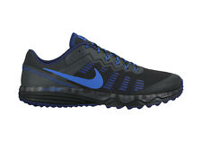 NIKE TRAIL RUNNING SHOES DUAL FUSION TRAIL 2 BLACK MEN 9 NEW 819146-004