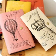 """Carte Postale"" 1pc Vintage Diary Travel Planner Pocket Journal Notebook Notepad"