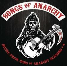 Songs of Anarchy: Music from Sons of Anarchy Seasons 1 - 4-CD-Prodotto Nuovo-OVP