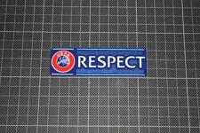UEFA RESPECT BADGES / PATCHES 2012 - 2014