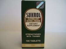 Sukrol Dietary Supplement 100 Tablets Combine Shipping available