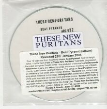 (GO700) These New Puritans, Beat Pyramid - 2008 DJ CD