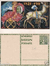 Königreich Bayern, Prinzregent Luitpold, Ganzsache 1911