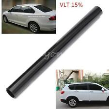 "Roll 50cm*6M Window Tint Film 15% Black Auto Car House Commercial 2 PLY 20""x20FT"