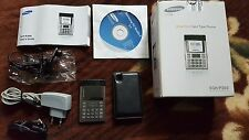 Samsung SGH P300 Modern Black w/Box Unlocked Cellular Ultra Slim Card Type Phone