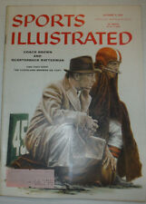 Sports Illustrated Magazine Coach Brown & Ratterman October 1956 040715R