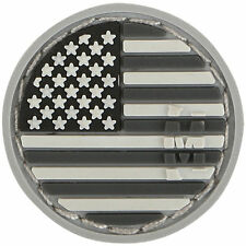 PVC Patch MAXPEDITION USA US FLAG - MICRO circle - New for 2015 - SWAT hook back