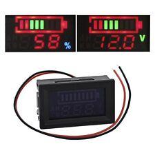 12V Lead-acid Battery Indicator Intuitive Voltage Display LED Display Meter DTEG