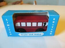 "Limited Edition Thomas The Tank Engine ""Bertie"" Wooden Set Still in Original Box"