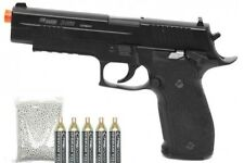 Full Metal Sig Sauer X-Five P226 CO2 Blowback 6MM Airsoft Pistol Combo Pack