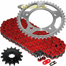 Red O-Ring Drive Chain & Sprockets Kit Fits HONDA CBR600F2 Super Sport 91-94