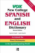 Vox New College Spanish and English Dictionary (VOX Dictionary Series) by Vox