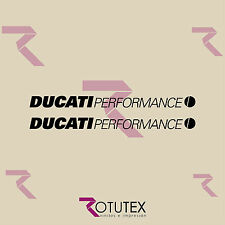 KIT 2X DUCATI PERFORMANCE CORSE PEGATINAS   ADHESIVOS STRICKERS DECAL AUFKLEBER