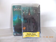 HARRY POTTER SERIES 1 - DEATH EATER WITH TORCH, WAND & BASE - NEW