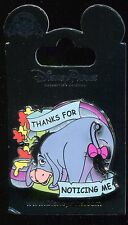 Eeyore Thanks for Noticing Me Sliding Slider Tail Disney Pin