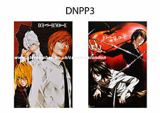 "2 x A3 Size Posters 16.5"" x 11.5"" Death Note/Yagami Light,Near,Mello & L (DNPP3)"