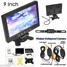 """2017 New 9"""" TFT LCD Color Touch Screen Car Sunvisor Monitor Rear View System"""