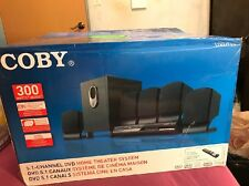 Coby DVD-765 5.1 Channel Home Theater System