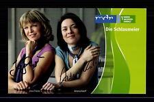 Ilona Thäsler und Antonia Karloff Autogrammkarte Original Signiert ## BC G 12338